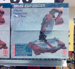Enforcer brand Drop Saw