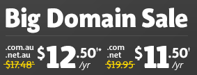 Big Domain Sale @Netregistry