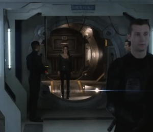 The 100 - how big is your airlock?